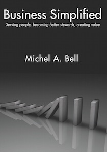 Michel Bell books about business, money and time management